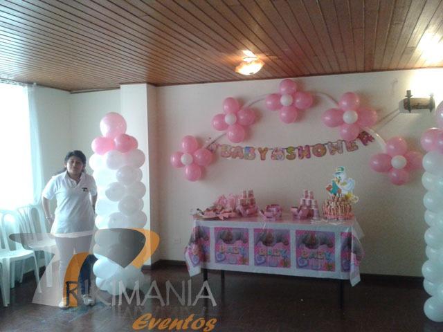 Decoracion Baby Shower Decoracion De Baby Shower Decoracion Globos ...