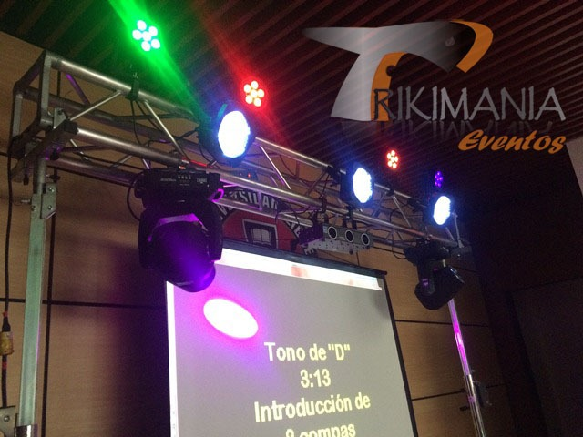 Miniteca con karaoke
