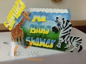 Animales de la selva Baby Shower