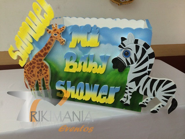 Animales de la selva Baby Shower