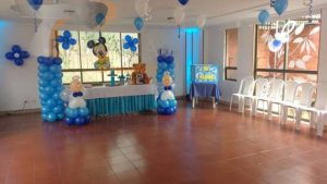 Decoracion de baby shower Bogota