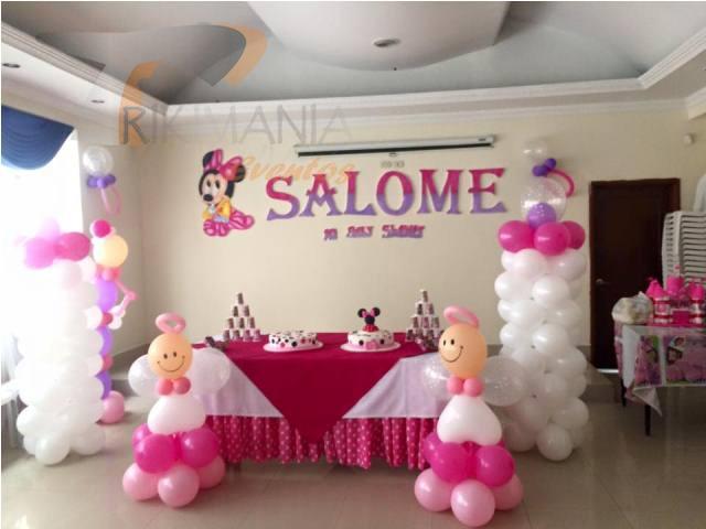 Baby shower salome trikimania eventos for Decoracion baby shower nina