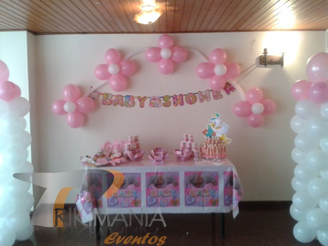 Baby shower decoraciones para baby shower alimentos para Decoraciones para ninas