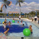 Fiesta En piscina