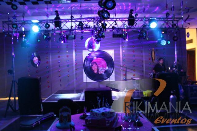 Decoracion Karaoke Party ~ Fiesta Ochentera  Trikimaniaeventos com