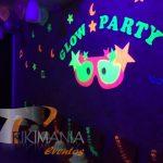 Decoración Chiquiteca Glow Party