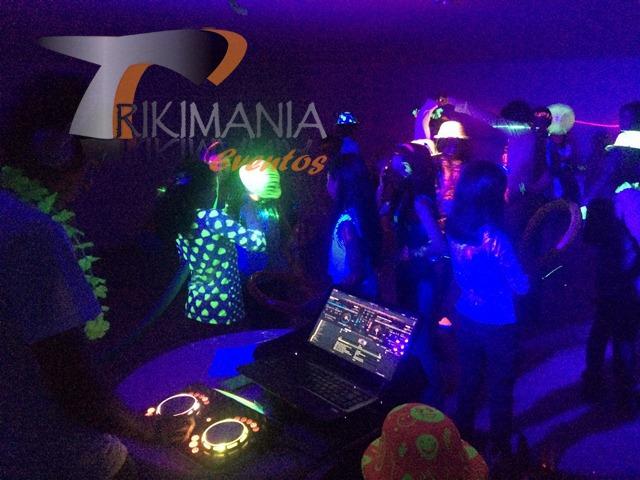 minitecas infantiles Glow Party