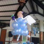 Angelita en globos