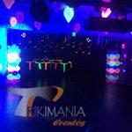 Decoracion para Miniteca Glow Party