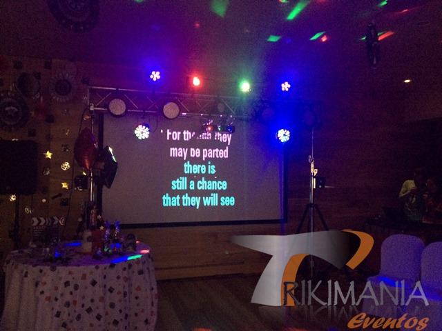 Decoracion Karaoke Party ~   party para 15 a?os, minitecas en bogota, minitecas de 15 a?os en