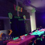 Alquiler de manteles Neon