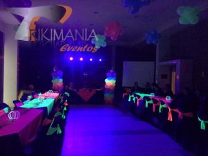 Miniteca Glow Party Bogota