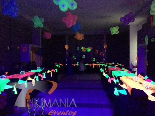 decoraciones para fiestas neon