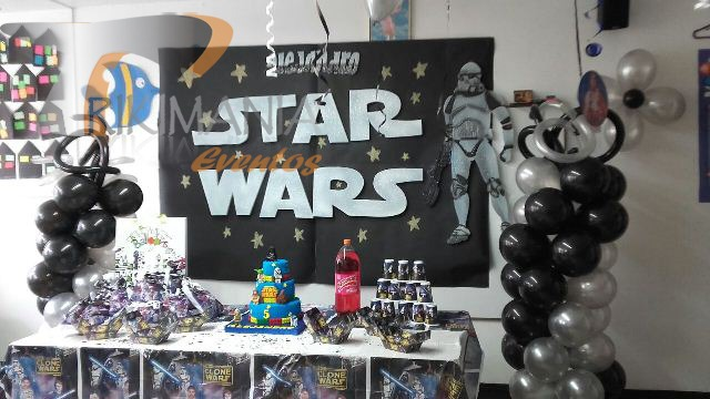 Decoracion de star wars for Decoracion star wars