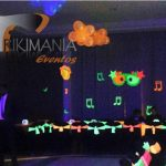 decoracion de fiesta neon o glow party