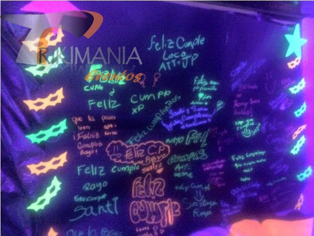 ideas para fiesta neon