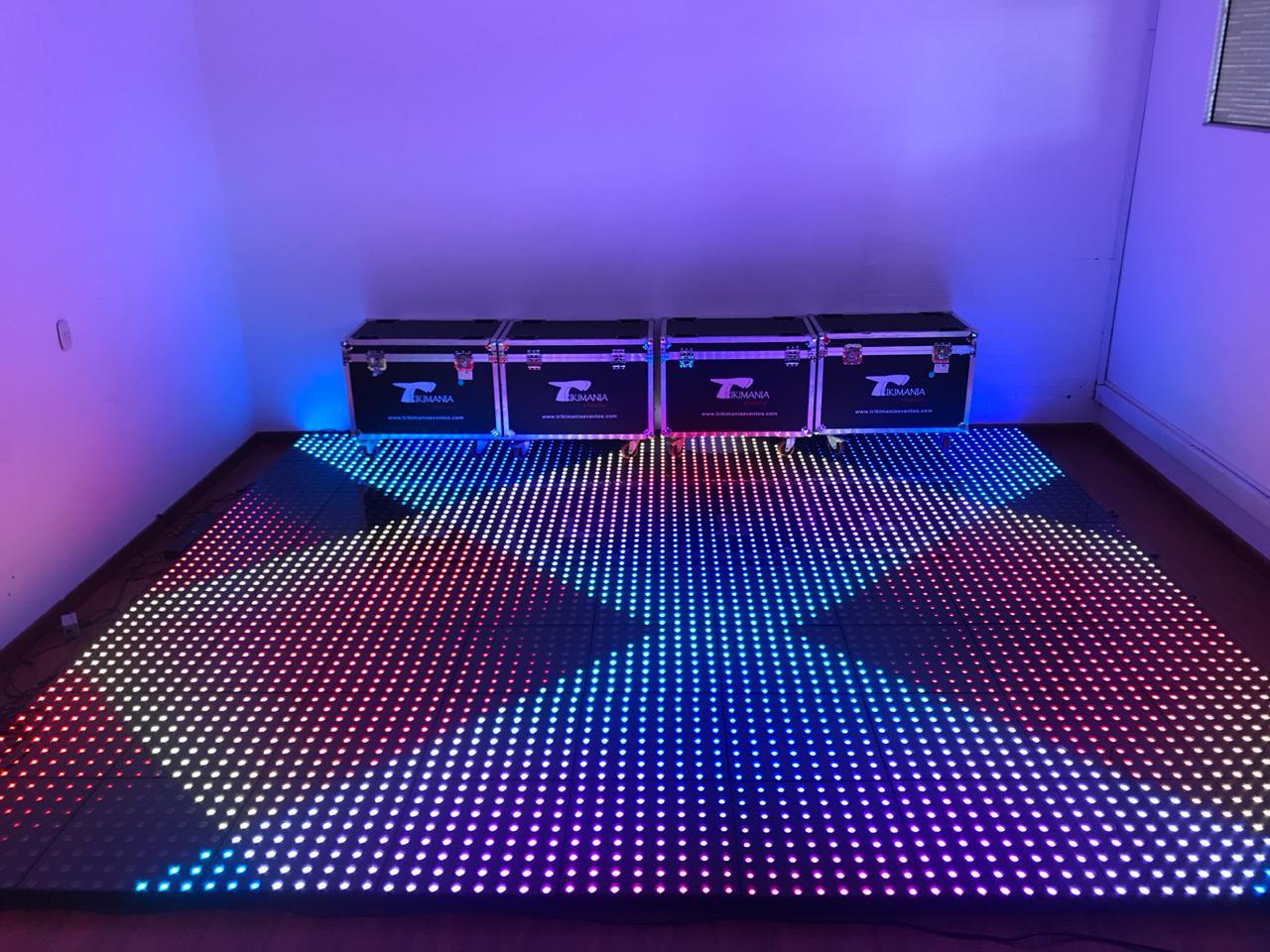 piso de baile leds