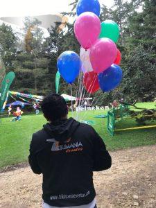 Venta globos con helio
