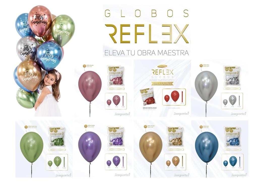 Globos Reflex Cromados